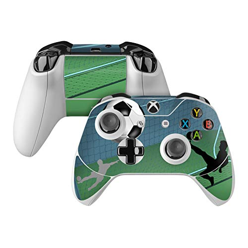 Soccer Life Skin Decal Compatible with Microsoft Xbox One and One S Controller - Full Cover Wrap for Extra Grip and Protection from DecalGirl