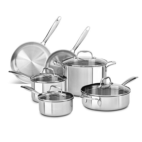 kitchen aid 10 piece cookware set - 4