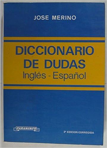 Free download english books Diccionario de dudas del inglés. in Norwegian DJVU