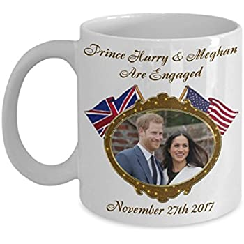 Prince Harry And Meghan Are Engaged Commemorative Coffee Mug Mugs of Tea