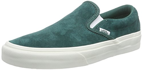 on de Vans Classic Blanc Mixte Vert Bayberry Baskets Scotchgard Basses Slip Blanc Adulte qqEfPFwx