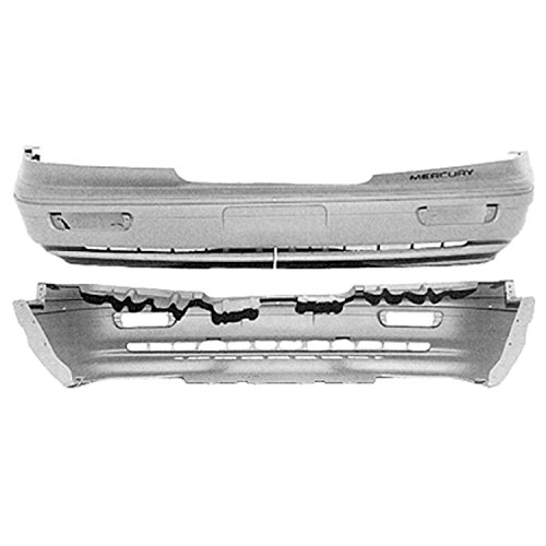 Crash Parts Plus Front Bumper Cover for 95-97 Mercury Grand Marquis FO1000268