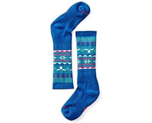 Smartwool Girls' Wintersport Fairisle Moose Socks Large