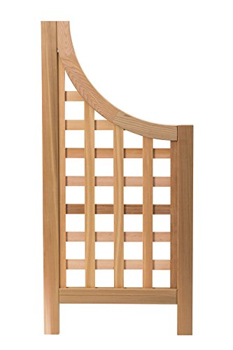 Arboria Andover Landscape Screens Trellis Wings, Made of Red Cedar Wood, Set of 2