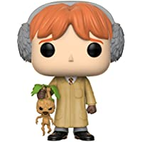 Funko Pop: Harry Potter-Ron Weasley (Herbology) Collectible Figure, Multicolor