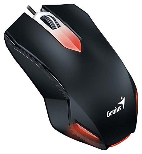 Genius Gaming Mouse Genius X-G200 USB, black (Genius Black Mouse)