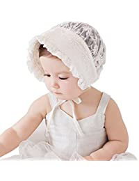 Baby Girls Lace Hats Infant Kids Beanie Bonnet Hats Hair Accesorries
