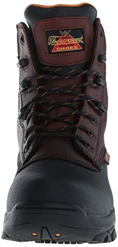 Brown Waterproof Boot Safety Men's Up Toe Trac Lace Thorogood Z wPz17