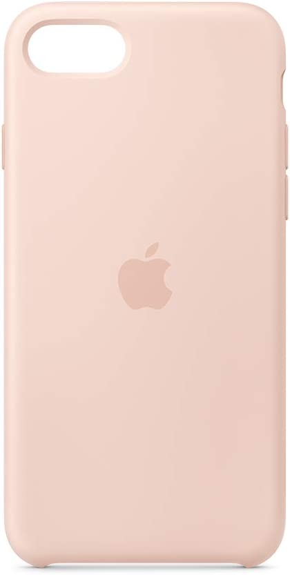 Apple Silicone Case (for iPhone SE) - Pink Sand