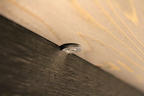 (30-Pack with 3/4'' Screws) Figure 8 Table Top Connector or Desk Top Fastener Clip - Heavy Duty 12 Gauge Steel by Balsam Point Workshop (Image #3)