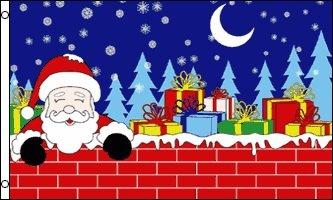 SANTA CHRISTMAS 3'x5' Flag