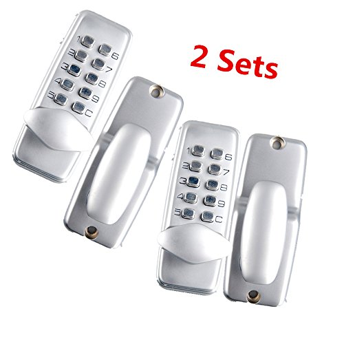 CO-Z Keyless Digital Password Entry Door Lock (2 Sets)