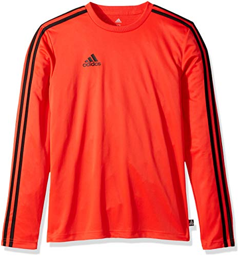 adidas Men's Soccer Tango Terry Long Sleeve Jersey, Hi-Res Red, Medium Adidas Climalite Long Sleeve Jersey