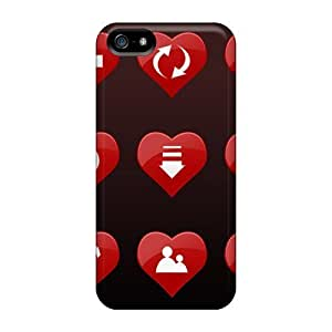 Brand New 5/5s Defender Case For Iphone (love Direction)