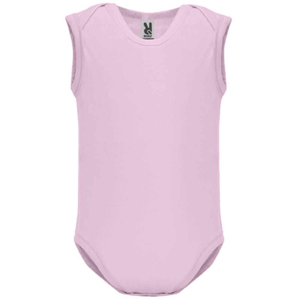 LookMyKase Body bébé - Manche sans - Cassos9 - Bébé Fille - Rose - 3MOIS:  Vêtements et accessoires