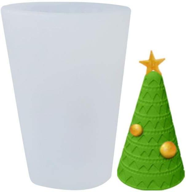 Weihnachten Silikonform Kuchenform 3D Weihnachtsbaum//Schneehaus Silikon Form Seifenform Weihnachtsbaum 3D Silikonform Kerze Formen Weihnachten Kerzengie/ßform f/ür Fondant Kuchen