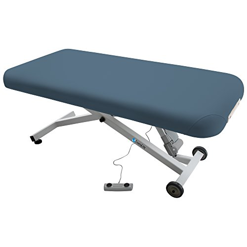 Earthlite 32-Inch Ellora Electric Lift Massage Table (Mystic Blue) Mystic Guest Chair