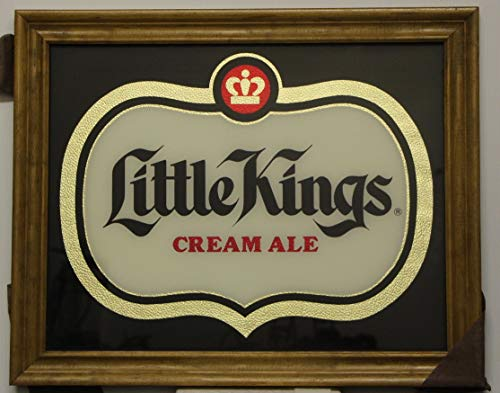 Little Kings Cream Ale Mirror Original Cincinnati Schoenling, used for sale  Delivered anywhere in USA