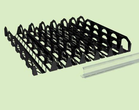 - Display Technologies, LLC Flexi-Shelf Flat Shelf Organizer