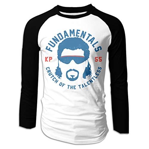 Men's Kenny Powers T-Shirts Long Sleeve Tee Black XXL (Kenny Powers Best Friend)