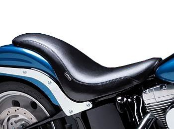 Le Pera King Cobra Seat for Harley 2006-2009 Softail Models with 200 Mm Rear Tire (Except Deuce Models) - Le Pera King Cobra Seat