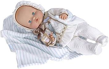 Nenuco Boutique bebé-vestido, color blanco (Famosa ... - Amazon.es