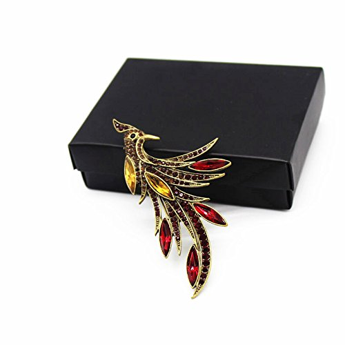 Ja and South Korea trade of the original single-popular style jewelry brooch exquisite fashion female lark collar pin brooch boxed -