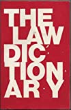 The Law Dictionary, Gilmer, Wesley, 0870845152