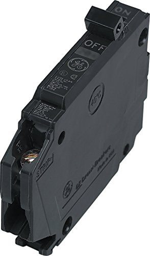 GE THQP120 Plug-In Mount Type THQP Feeder Molded Case Circuit Breaker 1-Pole 20 Amp 120/240 Volt AC (Ge Breaker Pole Circuit Single)