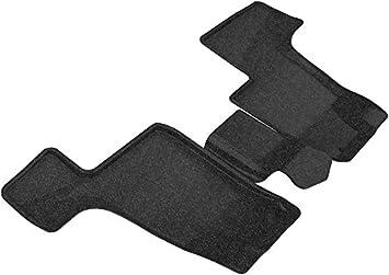 Black Classic Carpet 3D MAXpider Third Row Custom Fit Floor Mat for Select Mercedes-Benz Models