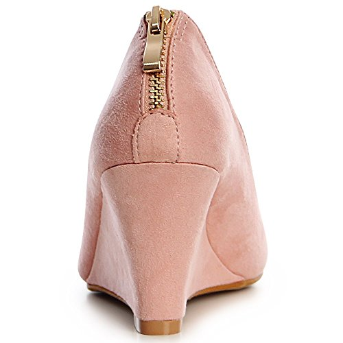 675 Rosa Topschuhe24 Rose Femmes Pompes x0wdqzafa