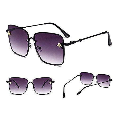 la la Las de Decoración C1 Gafas de C3 Personalidad del Peggy de Verano la para la Color la Playa para UV Sol de de Protección Abeja Mujeres Gu Conducir 0qx8Y