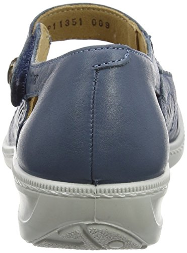 Hotter Women's Chile Mary Janes Blue (Blue River) fake sale online online Shop sale extremely sale sneakernews amazing price for sale 5K7fCn2