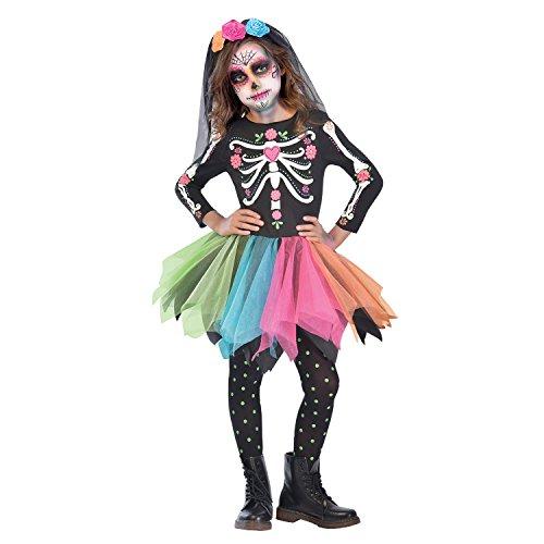 Disfraz Esqueleto Huesos Catrina Mexicana - Tienda Online de Disfraces para comprar tu disfraz de Halloween - Envíos baratos o gratis
