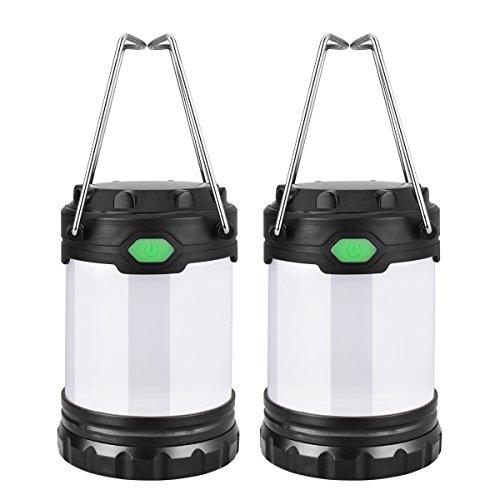 Ustellar 2 Pack Mini Portable LED Camping Lante...