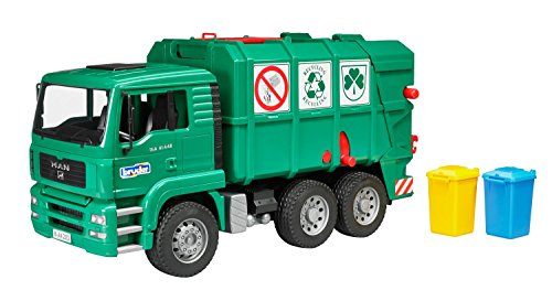 Bruder Garbage Truck - Bruder - MAN Garbage Truck - Pro Series