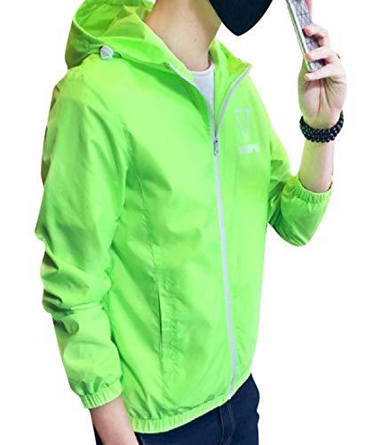 Jacket MogogoMen Waterproof Full Original Coat Fit 1 Zip Signature XgBr0