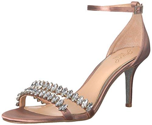Mischka Satin Melania Badgley Blush Heeled Women's Sandal BvBAdqF