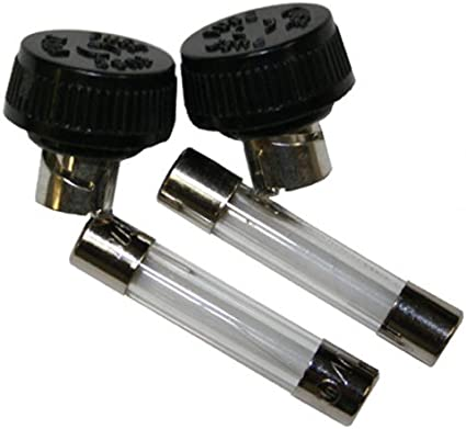 Replacement Fuse /& Fuse Cap Parker // Mc Crory 4 Pack 538