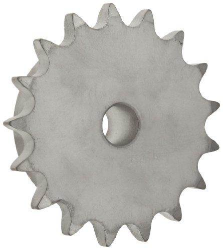 MARTIN Roller Chain Sprocket, Stainless Steel, Reboreable...