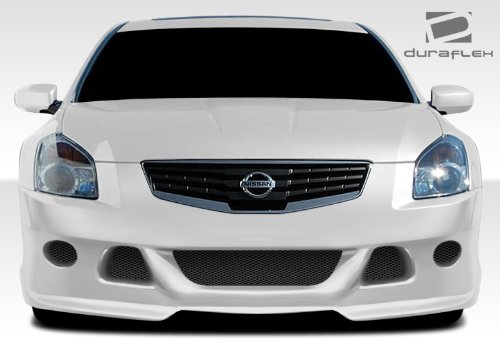 Duraflex Replacement for 2007-2008 Nissan Maxima VIP Front Bumper Cover - 1 Piece
