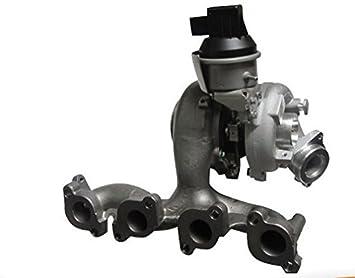 GOWE motor turbo BV43 K03 03l253056 a 53039880139 53039880132 53039880205 Turbocompresor para Skoda VW CBAB CBDA Motor 2.0 TDI: Amazon.es: Bricolaje y ...