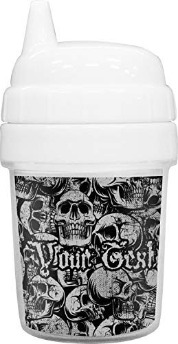 Skulls Baby Sippy Cup (Personalized) -