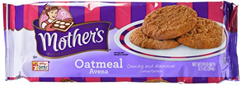 Mother's Oatmeal Cookies, 12.5-Ounce Packages (Pack of 4) (The Best Store Bought Cookies)