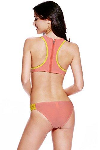 Pinkyee - Conjunto - para mujer Pattern Color