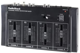 Radioshack – Micrófono estéreo de 4 canales mixermixer ...