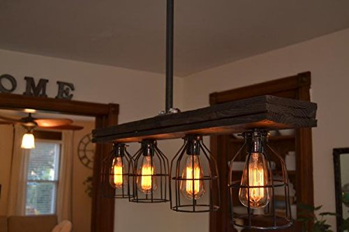 Rustic Wood Light