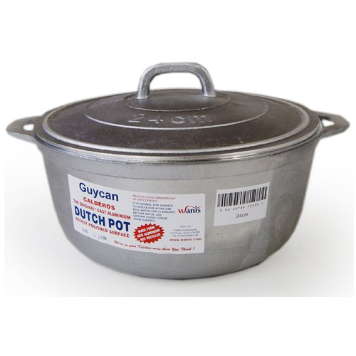 Guycan Cast Aluminium Dutch Pot - 24cm