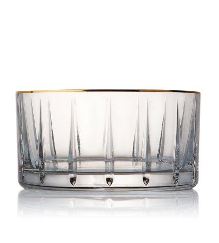 Trump Home Elmsford Rogaska Crystal Champagne Bottle Coaster