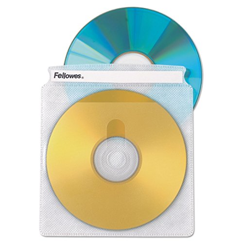 Fellowes Double-Sided CD/DVD Sleeves